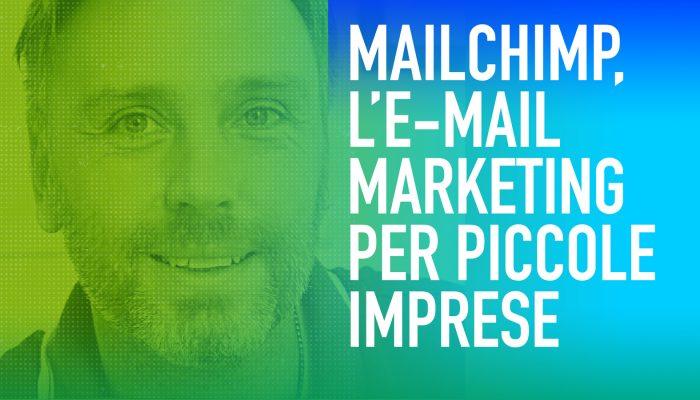 Mailchimp newsletter imprese