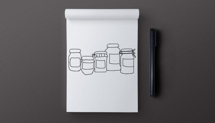 metodo di scrittura cinque vasi