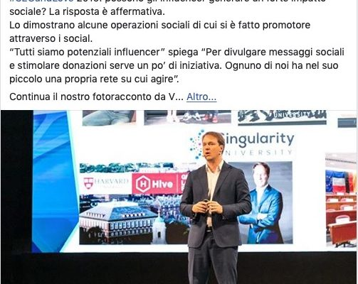 Storytelling sui social media, Facebook