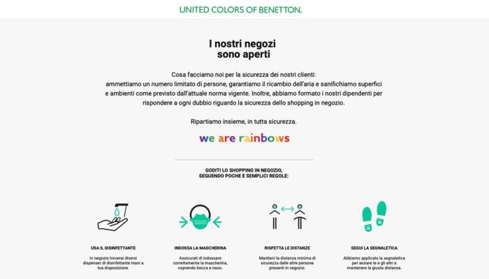 Storytelling della sicurezza: Benetton