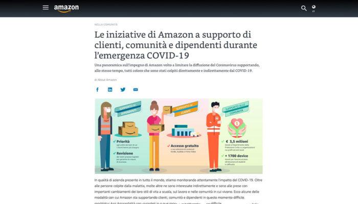 Storytelling della sicurezza: Amazon